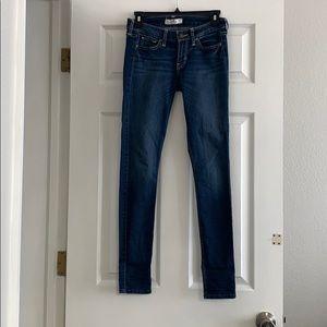 Hollister super skinny jeans size 0
